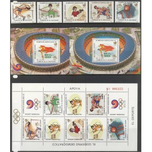 Salvador - Seoul 1988, Barcelona 1992, **