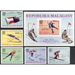 Madagaskar - Innsbruck 1976 olümpia, lõigatud **