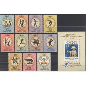 Ungari - Rooma 1960 olümpia, **