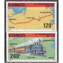 Kongo - 100 a. Siberi raudteed 1991, **