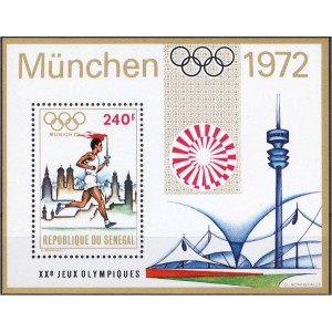 Senegal - München 1972 olümpia, **