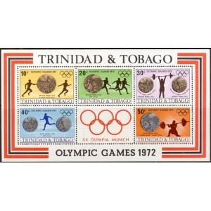 Trinidad ja Tobago - München 1972, **