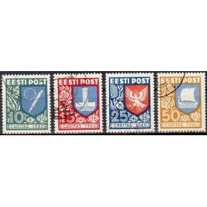 """Eesti 1940, """"Ühisabi"""" Caritas (I), templiga"""