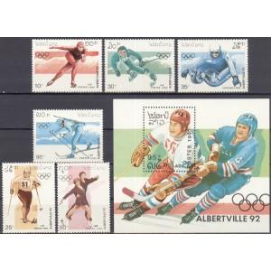 Laos - Albertville 1992 olümpia II, **