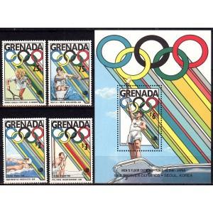 Grenada - Seoul 1988 olümpia (III), **