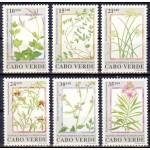 Cabo Verde - lilled, taimed 1991, **