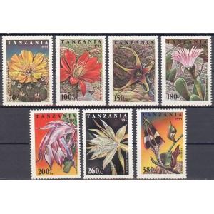 Tansaania - lilled, kaktused 1995, **