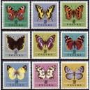 Poola - liblikad 1967, **