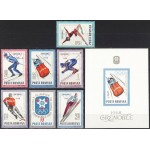 Rumeenia - Grenoble 1968 olümpia, **