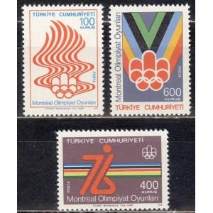 Türgi - Montreal 1976 olümpia, **