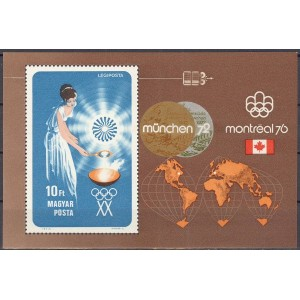 Ungari - München 1972, Montreal 1976, **
