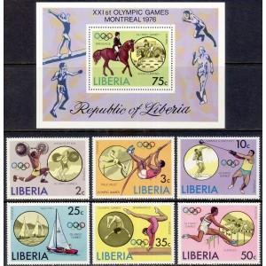 Libeeria - Montreal 1976 olümpia, **