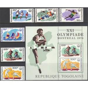 Togo - Montreal 1976 olümpia, **