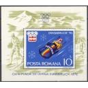 Rumeenia - Innsbruck 1976 olümpia, plokk **