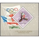 Ungari - Grenoble 1968 olümpia, plokk **