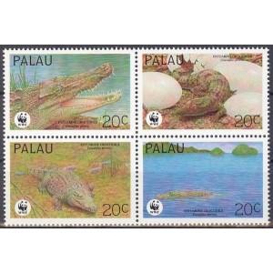 Palau - kahepaiksed, krokodillid WWF 1994, **