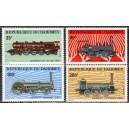 Dahomey - rongid, vedurid 1974, **