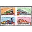 Niger - rongid, vedurid 1975, **