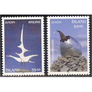 Island - Europa, kaasaegne kunst 1993, **