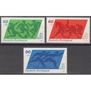 Saksamaa - sport 1980, **