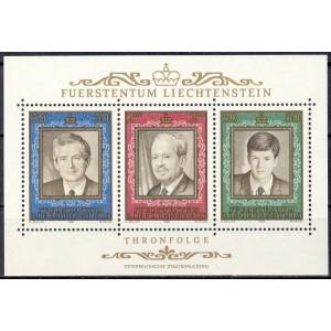 Liechtenstein - Franz Josef II 1988, **