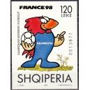 Albaania - jalgpalli MM, France 1998, **