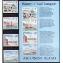 Ascension Island - laevad, posti ajalugu 1980, **