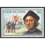 Cook Islands - 500 a. Ameerika avastamisest 1992, **