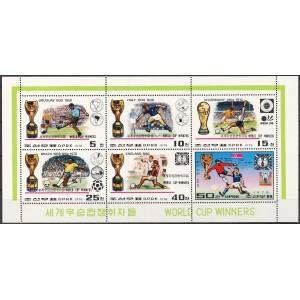 Põhja-Korea - jalgpalli MM 1930-1978, I **
