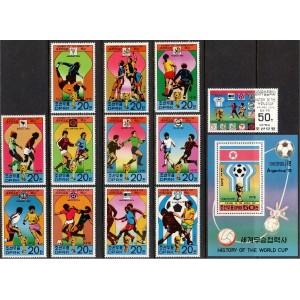 Põhja-Korea - jalgpalli MM ajalugu, **