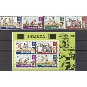 Uganda - jalgpalli MM Argentiina 1978, **