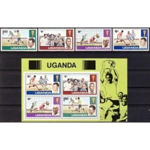 Uganda - jalgpalli MM ajalugu, **
