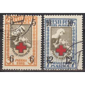 Eesti 1926, ületrükk Punase Risti heaks (I), templiga