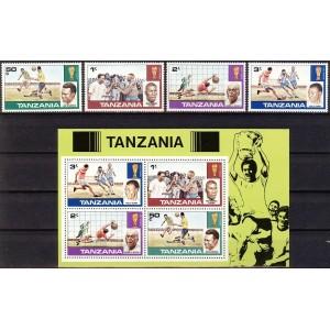 Tansaania - jalgpalli MM ajalugu, MNH