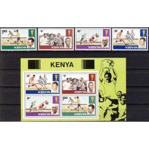Keenia - jalgpalli MM ajalugu, **