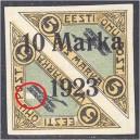 Eesti 1923, Õhupost ületrükk 10m (vigatrükk), (MH) *