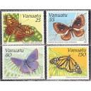 Vanuatu - liblikad 1991, **