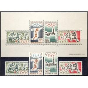 Tchad - Tokyo 1964 olümpia, **