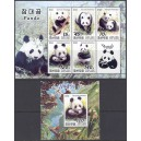 Põhja-Korea - loomad, pandad 2005, **