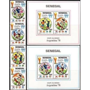 Senegal - Jalgpalli MM Argentiina 1978, **