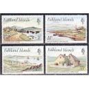 Falkland Islands - maastikud, arhitektuur 1980, **