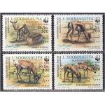 Somaalia - loomad WWF 1992, ületrükk **
