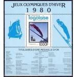 Togo - Lake Placid 1980 olümpiavõitjad, plokid **