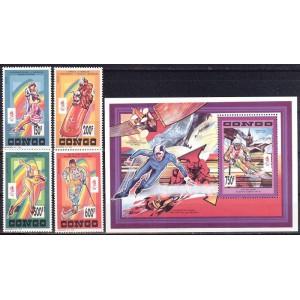 Kongo - Albertville 1992 olümpia, **