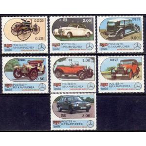 Kampuchea - autod 1986, **