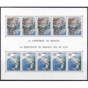 Monaco - Europa, arhitektuur 1978, (plokk) **