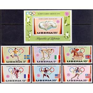 Libeeria - München 1972 olümpia (II), **