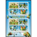 Malawi - linnud - papagoid WWF 2009, **