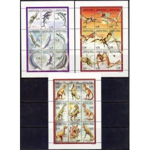 Komoorid - eelajaloolised loomad, saurused 1998, **