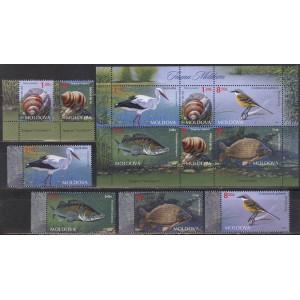 Moldaavia - linnud, kalad, teod 2014, **